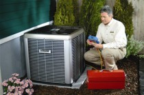 air conditioner repair technician